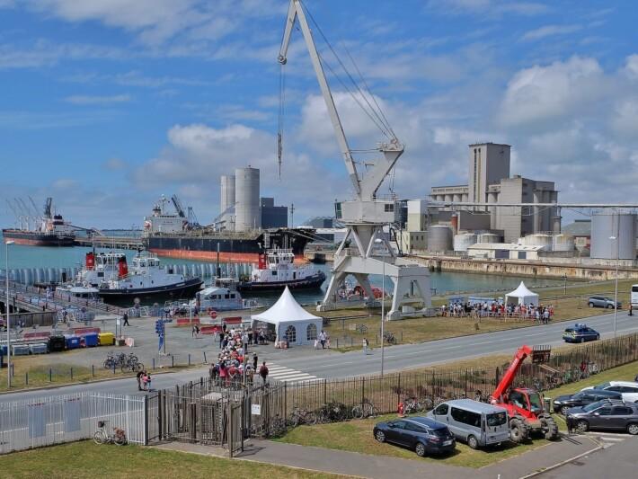 Port de commerce La Rochelle